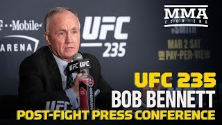 UFC 235: Bob Bennett Post Fight Press Conference   MMA Fighting