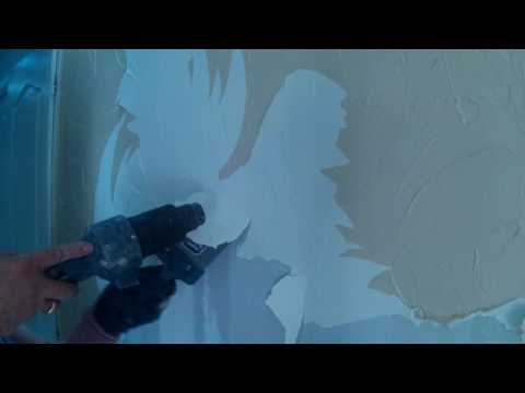Décoller du crépi ciré ou peint sur des murs intérieurs facillement devient un jeu d'enfant comment décaper le crépi ciré ou peint d'un mur ? - 0 - Comment décaper le crépi ciré ou peint d'un mur ?
