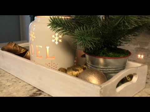 4 Easy Kitchen Countertop Decorations || Decorate With Me || Day 6 Christmas 2017 Mp3