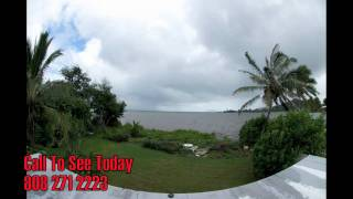 preview picture of video 'Ocean Front Vacant Lot 47671 Kamehameha Hwy Kaneohe Hawaii'