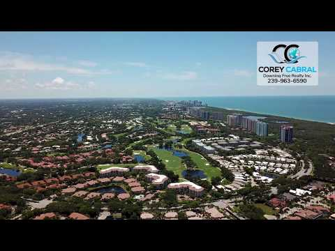 Stunning! Pelican Bay Fly Over Video in Naples, Florida