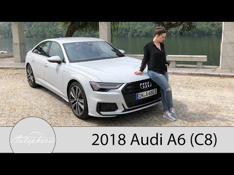 2018 Audi A6 55 TFSI quattro S tronic Fahrbericht / Neue Business-Klasse aus Ingolstadt - Autophorie
