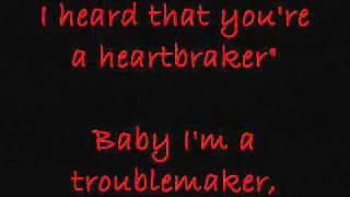 Troublemaker - Akon (LYRICS)