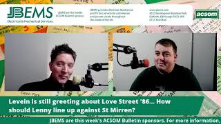 Levein is still greeting about Love Street '86... How should Lenny line up against St Mirren?