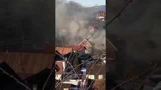Brand in Dornbirn - Video von User Marcel