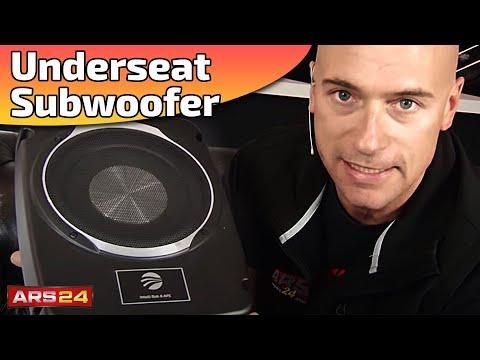 Aktiv Subwoofer unter dem Sitz   RAINBOW INTELLI SUB 8   REVIEW   ARS24.COM BERATUNGSVIDEO