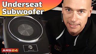 Aktiv Subwoofer unter dem Sitz | RAINBOW INTELLI SUB 8 | REVIEW | ARS24