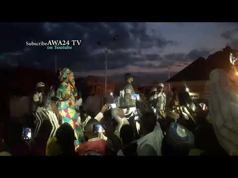 Adam A. Zango At Sallah Show today BASAJA SONG