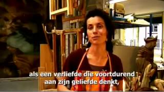 Restauratrice Maylis, in gesprek met God