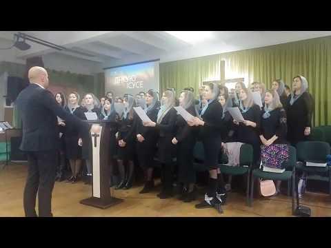 Soli deo Gloria   Молодіжний хор в гостях у церкві ЄХБ Преображення м. Вараш