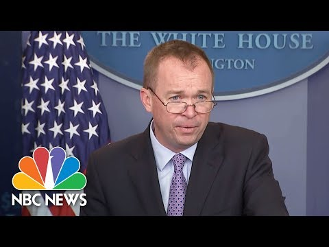 Mick Mulvaney On President Donald Trump's Budget Plan: It Is A 'Taxpayer First Budget' | NBC News