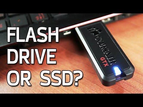 Flash Drive or SSD? Corsair Voyager GTX 256GB