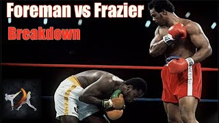 George Foreman vs Joe Frazier Explained - The Sunshine Showdown | Fight Breakdown |