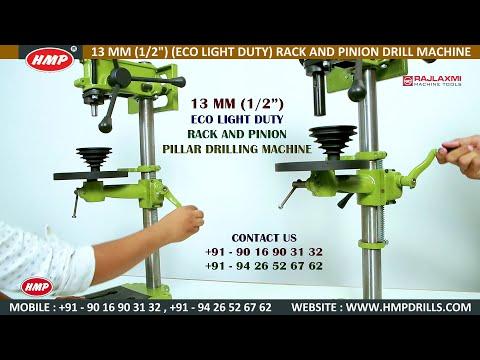 HMP-06 13mm Socket Type Rack And Pinion RP Pillar Drill Machine