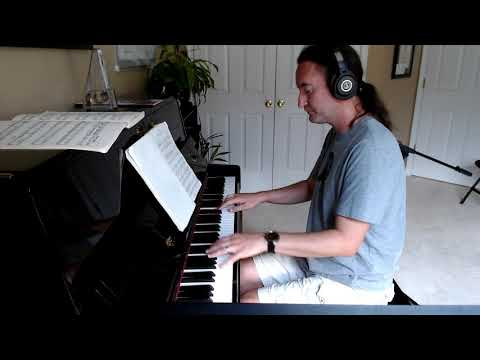 This is a short video demo of me and the piano. This is the main angle used during lessons Don't hesitate to ask any questions.
