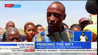 KTN Prime 15th January 2018: Governor Sonko speaks publicly about Igathe's resignation