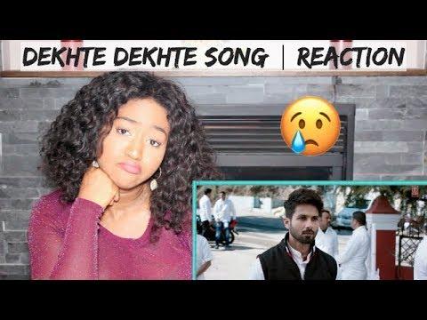 Atif A: Dekhte Dekhte Song | Batti Gul Meter Chalu | Shahid K Shraddha K | REACTION