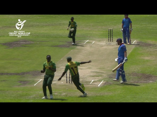 ICC U19 Cricket World Cup Africa Qualifier: Namibia v Nigeria highlights