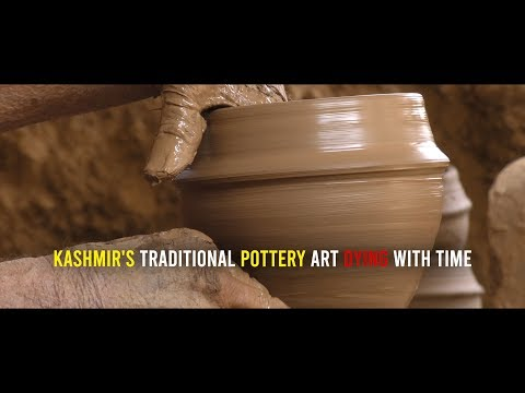 Kashmir's traditional pottery art dying with time