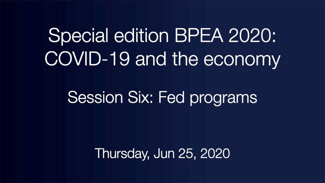 Session Six: Fed programs
