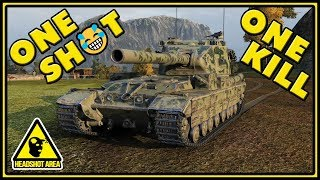 One Shot, One Kill - FV215b (183) - World of Tanks Gameplay
