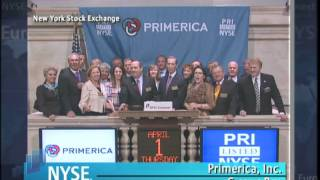 1 April 2010 Primerica Celebrates IPO, First Day of Trading on the NYSE