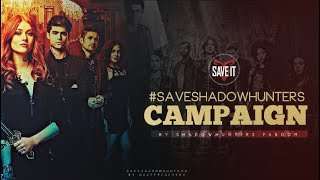 #SaveShadowhunters Campaign Video
