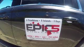 Anastas Panchenko / 5 days triathlon 226 /  Epic5 Challenge