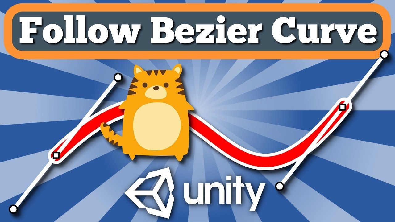 Unity Tutorial How To Make Game Object Or Character Move Along Bezier Curve With Simple C# Script