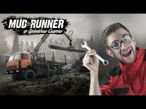 CHALLENGE A POHLED Z KABINY? | Spintires Mudrunner #01