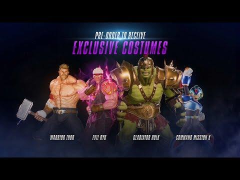 《漫威大戰卡普空:無限》(Marvel vs. Capcom: Infinite)角色預購特典服裝對戰影片公開!!