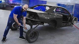 800+ л.с. BMW Super8. Запустили мотор, вварили каркас!