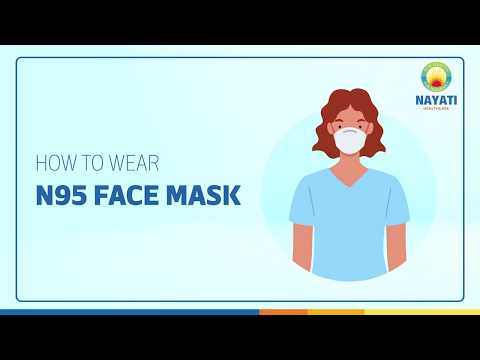 Know how to wear & remove N95 mask
