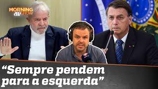 Datafolha mostra Lula na frente de Bolsonaro. Tem credibilidade?