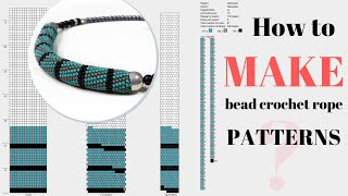 How To Make Bead Crochet Rope Patterns | Jbead Tutorial | Bead Crochet