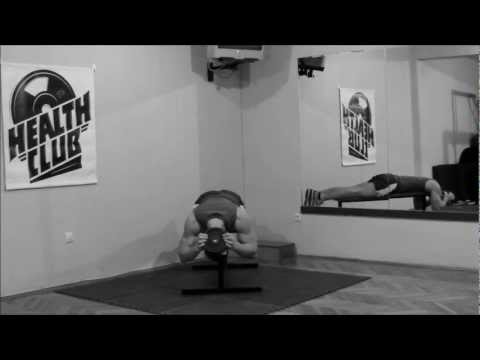 Weighted neck extension - Neck exercises