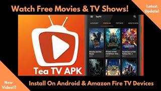 Install Tea TV (Amazon Fire TV Devices)