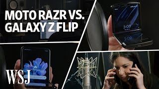 Motorola Razr vs. Samsung Galaxy Z Flip: The Musical Review | WSJ