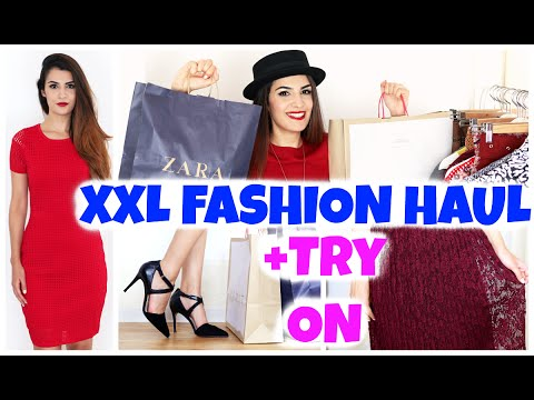 XXL HERBST FASHION HAUL 2015 + 1000€ VERLOSUNG 👗 TRY ON | KINDOFROSY