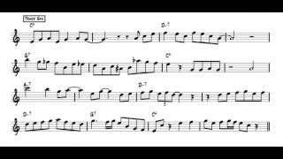 Jazz Sound and Style - Jazz Saxophone Lesson