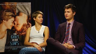 Виноваты звезды, Shailene Woodley & Ansel Elgort Interview - THE FAULT IN OUR STARS - This Is Infamous