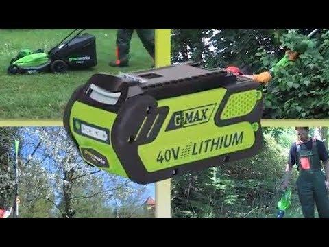 Greenworks G-Max Akku Gartengeräte 40 V | GLOBUS BAUMARKT