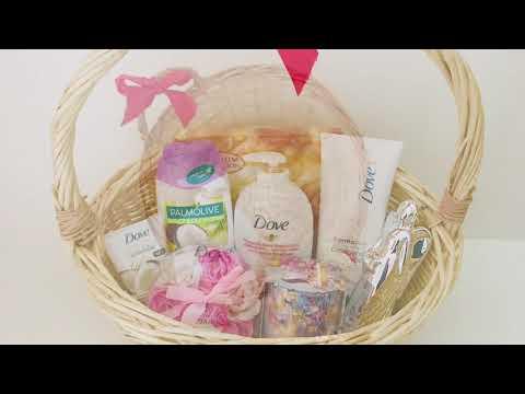 Geschenk Im Korb Ihr Geschenkkorb- Geschenkkorb selber machen, Präsentkorb, Geschenkidee, Geschenk