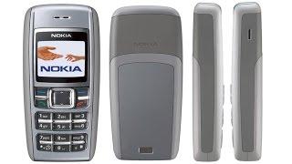 Nokia 1600 ретро телефон -  обзор легенды
