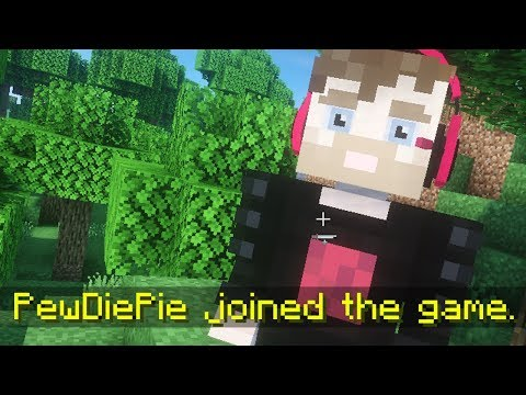 PewDiePie Joined The Game. (Minecraft)