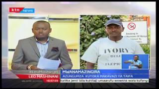 Leo Mashinani: Jim Nyamu mwana mazingira amejitolea kutembea kwa upendo wa mazingira, Octoba 7 2016