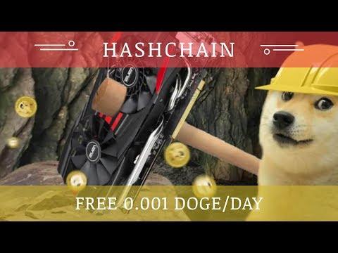 Hashchain.cloud отзывы 2018, mmgp, обзор, 0 001 Doge в день бонус за регистрацию