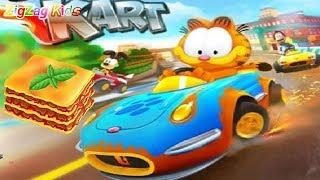 Garfield Kart | Lasagna Cup | Episode 1 | ZigZag Kids HD