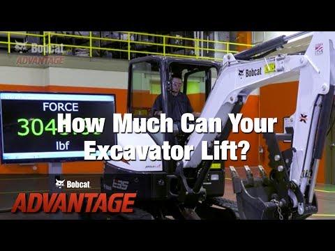 Bobcat E35 25HP EXCAVATOR in Brunswick, Georgia - Video 3