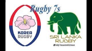 S. KOREA Vs SRI LANKA (Group Game) Rugby Sevens 18th Asian Games 2018